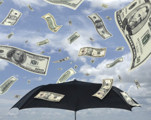 Money _umbrella