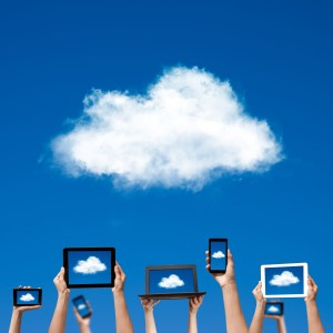 How do cloud-based services fit into the online sales tax debate?
