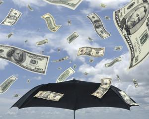 Money _umbrella